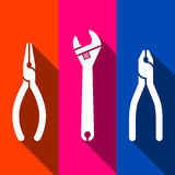 Toolkit icons set great for any use, Vector EPS10. Royalty Free Stock Image