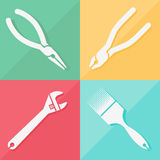 Toolkit icons set great for any use, Vector EPS10. Royalty Free Stock Images