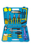 Toolkit with many tools Stock Photography