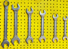 Tools. Of different shapes and sizes Stock Photos