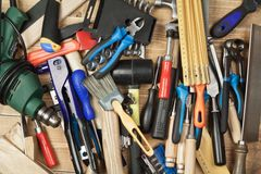 Tools Stock Photo