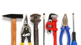 Tools. Set isolated on white background Royalty Free Stock Image