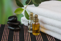 Tools and accessories for spa treatments Stock Image
