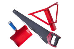 Tools for aerated concrete Royalty Free Stock Photo