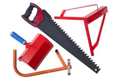 Tools for aerated concrete Stock Image