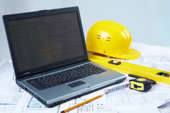 Tools for architectural design Stock Photos
