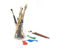Tools for the artist Royalty Free Stock Images
