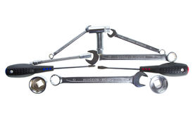 Tools As A Car Royalty Free Stock Image