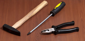 Tools background Stock Photography