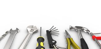 Tools background Stock Image