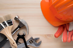 Tools background Royalty Free Stock Photos