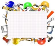 Tools background stock illustration