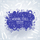 Tools background Royalty Free Stock Photography