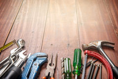 Tools background Stock Images