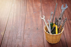 Tools background Stock Photos