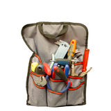 Tools in bag Royalty Free Stock Photos