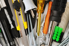 Tools bakgrund Royaltyfri Fotografi