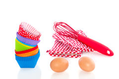 Tools for baking cakes Royalty Free Stock Photography