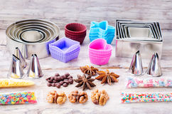 Tools for baking Royalty Free Stock Images