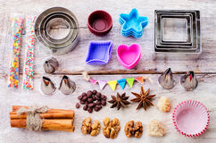 Tools for baking Stock Photo