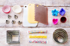 Tools for baking Royalty Free Stock Image