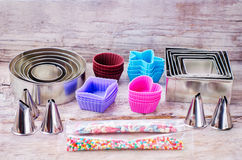 Tools for baking Royalty Free Stock Photos