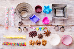 Tools for baking Stock Image