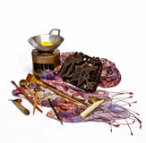 Tools for batik Royalty Free Stock Image