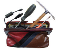 Tools in beautician Royalty Free Stock Photos