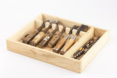Tools box Stock Photo