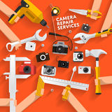 Tools box Stock Photos