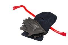Tools for a burglar Stock Image