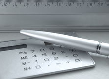 Tools for calculation Stock Photo