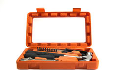 Tools case. In a white background stock photography