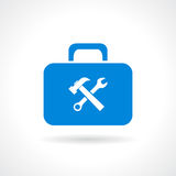 Tools chest icon Royalty Free Stock Photos