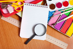 Tools for children's creativity Stock Photos