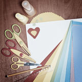 Tools for children's creativity Stock Photography
