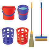 Tools for cleaning. Stock Images