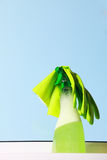 Tools for cleaning windows Stock Photography