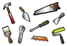 TOOLS COLLECTION Royalty Free Stock Images