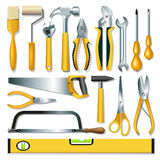 Tools collection stock illustration