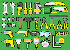 Tools color Stock Photos