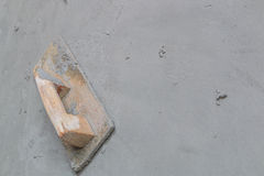 Tools for concrete plasterer Royalty Free Stock Photography
