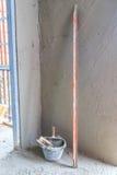 Tools for concrete plasterer Stock Photos
