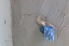 Tools for concrete plasterer Stock Image