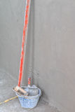 Tools for concrete plasterer Stock Photography