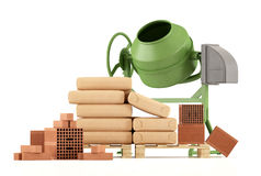 Tools of a construction site Royalty Free Stock Photo