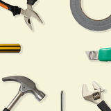 Tools With Copy Space Royalty Free Stock Photos