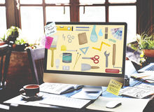 Tools Craftsmen Hobby Repair Equipment Concept Stock Photos