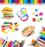 Tools for creative work Stock Photography